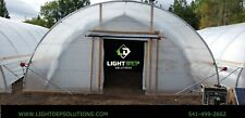 24x98 internal frame light dep greenhouse
