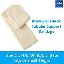 "MEDIGRIP Elastic Tubular Support Bandage, Size E: 3-1/2""W (8.75 cm) for Legs NEW"