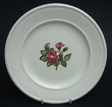 Vintage Wedgwood Moss Rose Pattern Side or Bread Size Plates 16cm Look in VGC