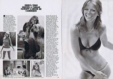 COUPURE DE PRESSE CLIPPING 1978 CHERYL TIEGS  (2 pages)