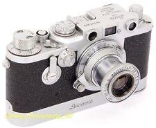 Leica Iiif 35 mm telémetro por Leitz Wetzlar 1954 + leicavit + 1:3 .5 F = 50 Mm Lente