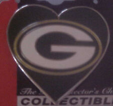 Green Bay Packers HEART I Love the Packers Collector Pin Very Cute