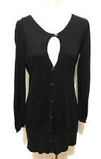 MARLBORO Cardigan Maglia Donna Viscosa Cashmere Rayon Woman Sweater Sz.M - 44