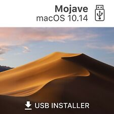 ? macOS 10.14 Mojave bootfähiger USB Stick USB Reparatur Update Recovery Hilfe