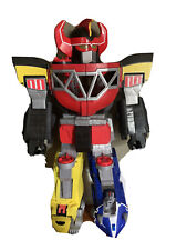 """Imaginext Mighty Power Rangers Morphin Megazord 2015 Large 27"""" Robot Toy Fort"""