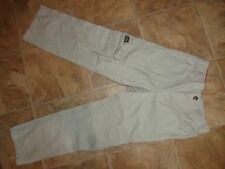 Boys Wrangler Khaki Twill Cargo Pants Size 8 Slim
