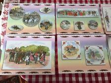 6 sets de table Alsacien Sarreguemines Obernai NEUF et plastifiés