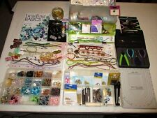 Jewelry Making Mega Lot !! - Tools, Beads, Crystals, Findings and SO MUCH MORE!