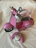 Zapf Creation Baby Born Pink Remote Controlled Scooter - Full Working Order.