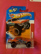 Hot Wheels 2012 Thrill Racers Prehistoric #216 '71 Buick Riviera Red 4x4