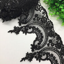 1yard, Sequins Lace Trim Ribbon Applique 24cm wide for Sewing  Dress Crafts A105