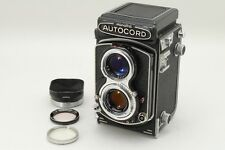 [Exc+++] Minolta Autocord III TLR Film Camera w/ Metal Hood from japan #M153