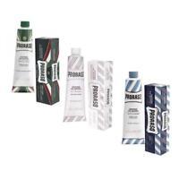 PRORASO Shaving Cream Tube 150ml in Eucalyptus,Green Tea & Oatmeal or Sandalwood