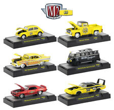 M2 MACHINES MOONEYES RELEASE 2 SET OF 6 CARS