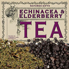 ECHINACEA & ELDERBERRY- ORGANIC HERBAL TEA - 200g