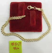 Gold Authentic 18k saudi gold bracelet,,e