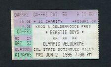 1995 Beastie Boys Concert Ticket Stub Carson Ca Ill Communication Sabotage