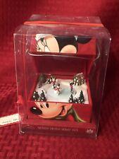 MR. CHRISTMAS Disney RED Minnie Mouse POM POM Music Box NEW!!