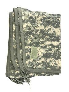 Military All Weather Poncho Liner, ACU Camo Woobie Blanket, US Army Camping