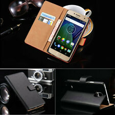 Leather Flip Case Book Cover For Motorola Moto G8 E6 Plus G7 Power E5 G6 Play