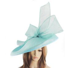 Turchese Grandi Ascot cappello per Matrimoni, Ascot, DERBY B7