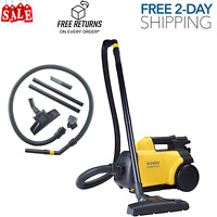 Eureka Mighty Mite 3670G Corded Canister Vacuum Cleaner, Yellow,Pet,3670g-yellow