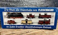 More details for fleischmann ho/h0 - 4886 - 'wagon standardisation' - 80th anniversary set