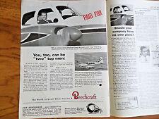 1963 Beechcraft Travel Air Airplane Ad