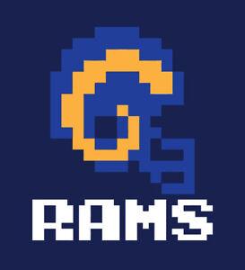 Los Angeles Rams Tecmo Bowl shirt L.A. Retro Nintendo Football Super A Donald