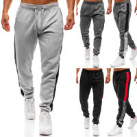 Mens Casual Fitness Loose Joggers Sweatpants Pants Tracksuit Sports Trousers Gym