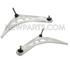 For BMW E46 323i Set of Front Left & Right Lower Control Arm & Ball Joint Febi