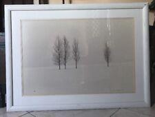 Thomas Mangelsen Winter Aspens 20X30 Wyoming 388/950 Signed Large Print Framed
