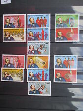 Briefmarken Guinea Ecuatorial pfr, geschnitten u. gezähnt