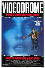 Us Seller - videodrome vintage horror sci-fi movie poster wall poster patterns
