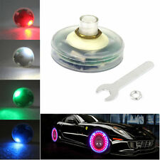 Auto Car Wheel Hub Tire Solar Energy LED Decoration Valve Light Flash Night Lamp