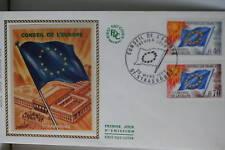 ENVELOPPE PREMIER JOUR SOIE 1969 CONSEIL DE L'EUROPE