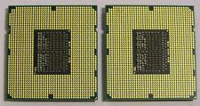 SLBF4 MATCHED PAIR INTEL XEON QUAD CORE CPU PROCESSOR X5560 2.8GHZ/8M/6.40