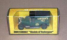 Matchbox Model of Yesteryear MOY Y-5 1927 Talbot Van Lipton's Tea N/B (#CLA-5)