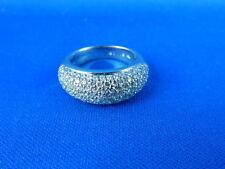 Sehr gut geschliffener Echtschmuck mit SI Reinheit Ringgröße 52 (16,5 mm Ø)