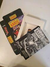 KARTS Atari Jaguar EMPTY Display Box Bag Manual & White Insert ONLY NO CARTRIDGE