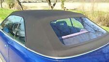 Verdeck für Audi 80 Cabrio, Stoff, schwarz, neu, Cabrioverdeck