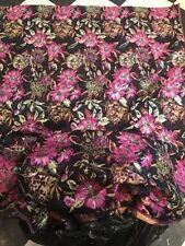 By the Metre Floral Brocade Craft Fabrics