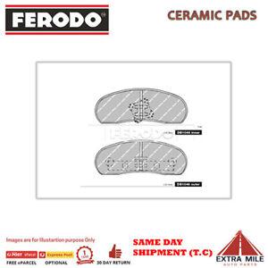 Ferodo brake pads RR For Ford FAIRLANE ZG 1973-1977 5.8L V8 DB1046FTQ
