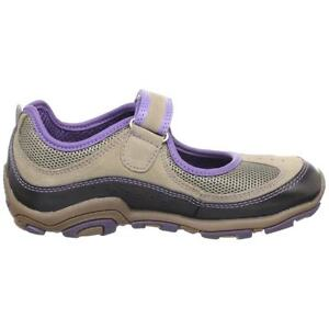 New Toddler Girl Geox J German Mary Jane Shoe Tan Purple Size 9 10 10.5 26 27 28