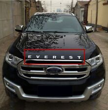 Chrome Hood Emblem Letters Decal NEW for Ford Everest 4Dr SUV 2015 2016