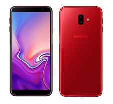 Samsung Galaxy J6+ in Rot Handy Dummy Attrappe - Requisit, Deko, Werbung