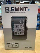 Wahoo Element Bundle GPS computer+rpm cadence+rpm speed pod + TICKR heart rate