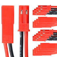 BEC JST Steckverbinder Stecker Buchse mit Kabel AWG 20 10 Paar partCore 140011