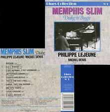 MEMPHIS SLIM - PHILIPPE LEJEUNE  dialog in boogie