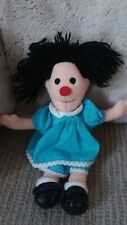 "1997 The Big Comfy Couch 9"" Molly Plush Beanie Doll w Clothes"